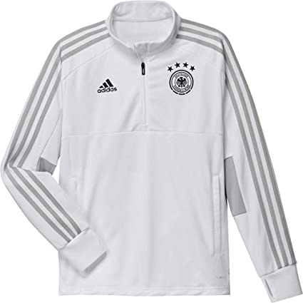 adidas Germany Training Top Youth Sudadera de Entrenamiento, Unisex niños, Blanco (Gridos/