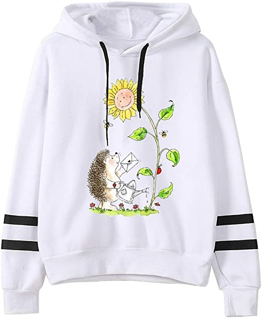HLHN Women Sweater Two Person Xmas Christmas Couples Winter Novelty Pullover Tops Jumper Blouse Casual T-Shirt Men Women