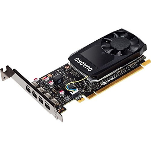 PNY NVIDIA Quadro P1000 Professional Graphics Board (VCQP1000-PB) by PNY
