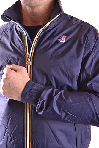 K-Way Homme MCBI175035O Bleu Polyamide Blouson