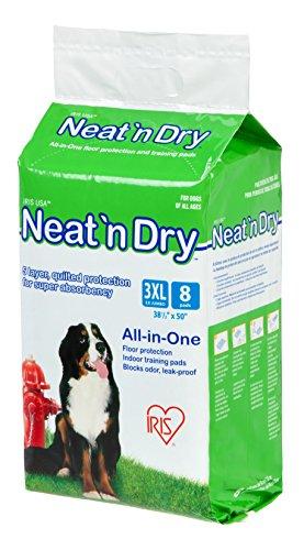 IRIS Neat 'n Dry Premium Pet Training Pads, 8 Count Now $0.94 (Was $14.99)