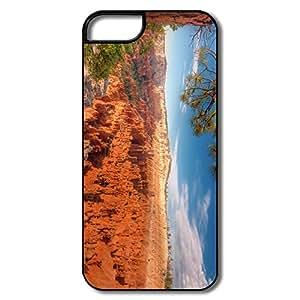 Art Bruce Canyon Scratch Tpu Apple Iphone 5 Case