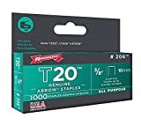 Arrow Fastener 206 3/8'' T20 Staples