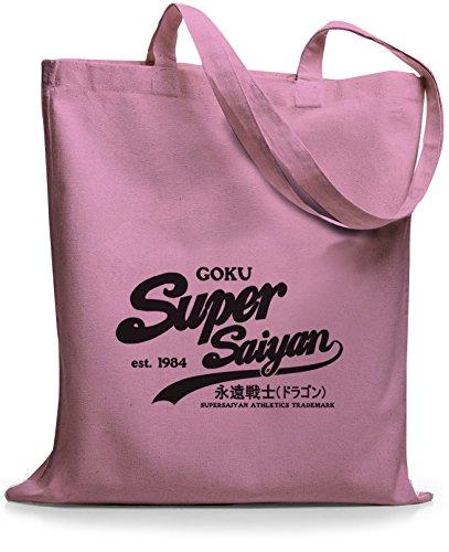 StyloBags Jutebeutel / Tasche Goku Super Saiyan Rosa NasAxs72
