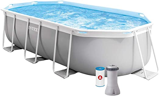 Intex 26794NP Piscina desmontable, con depuradora, 400 x 200 x 100 cm: Amazon.es: Jardín