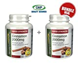 My review of Simply Supplements Cinnamon 2000mg Bundle Deal 240 Tablets in total
