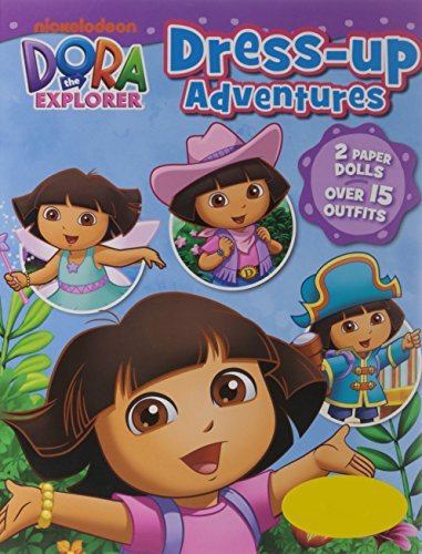 Nickelodeon Dora the Explorer Dress-Up Adventures: 2 Paper Dolls, Over 15 Outfits! (2014-02-28)