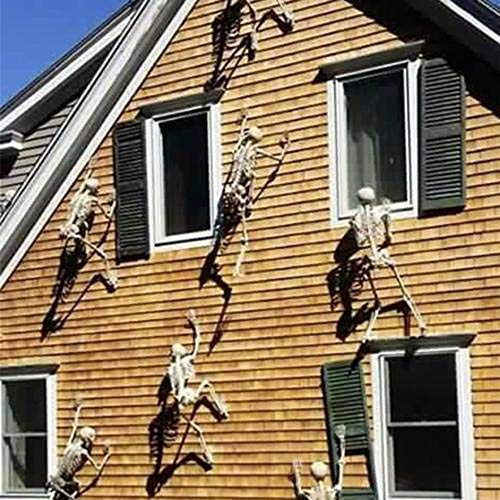 Weite Halloween Skeleton Roof Decor - 11.8inch Tall
