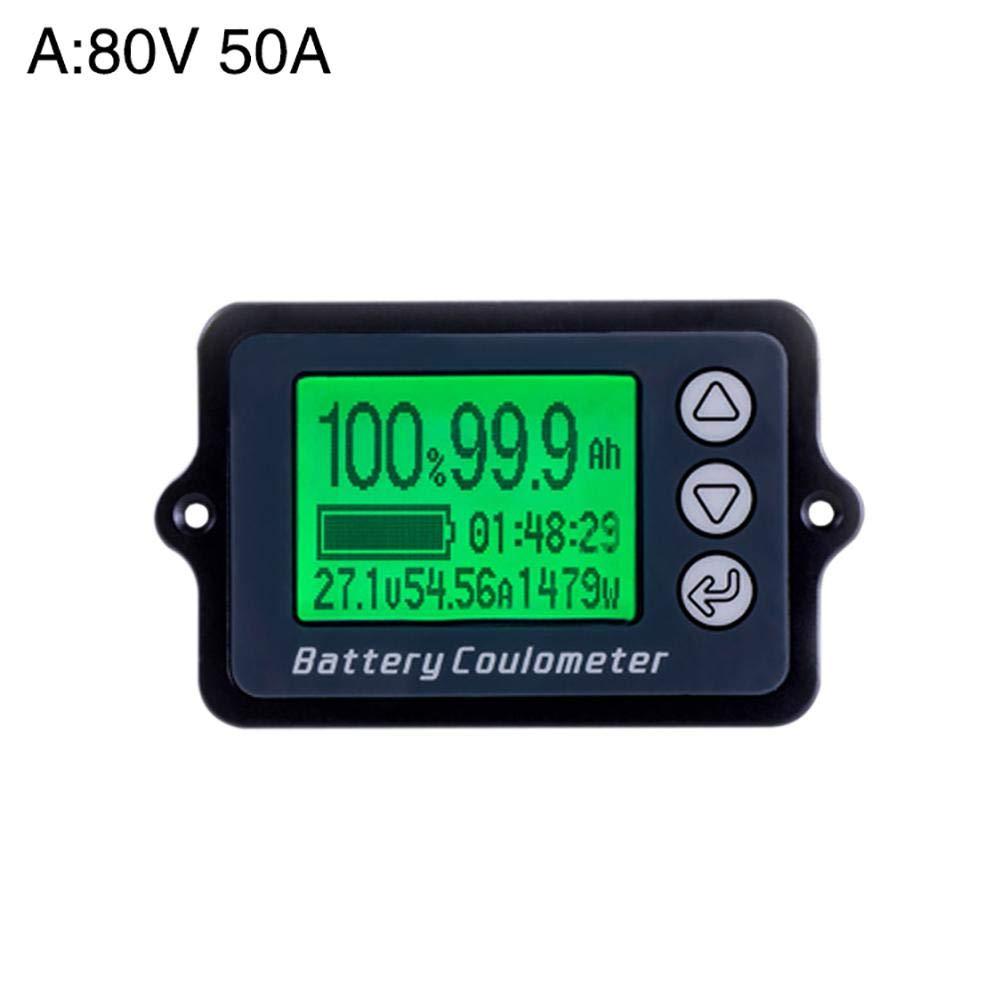 iBaste/_top Detektor TK15 Coulometer-Batterie-Elektrofahrzeug-Energieanzeige-Lithiumeisenphosphat-Kapazit/ätsdetektor