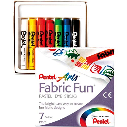 (Fabric Fun Pastel Dye Sticks 7/Pkg-Assorted Colors)