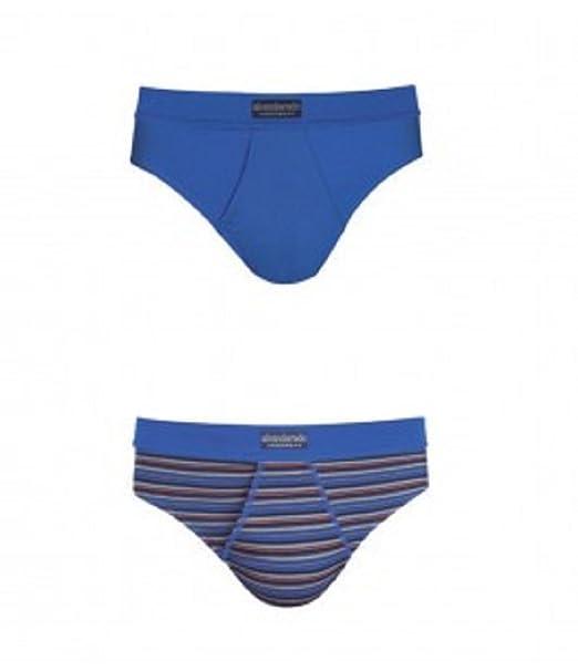 Abanderado ASA5379, Slip para Hombre, Azul, Medium (Tamaño del fabricante:M