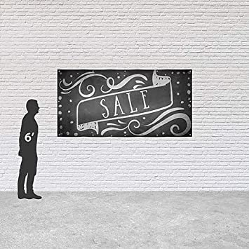 CGSignLab 8x4 Chalk Banner Heavy-Duty Outdoor Vinyl Banner Sale