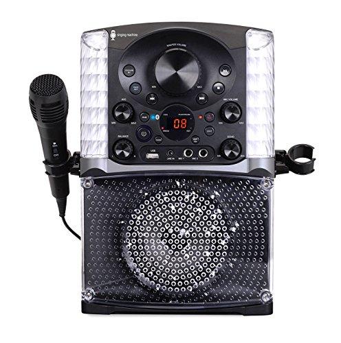 Singing Machine SML625BTBK Bluetooth CD+G Karaoke System Black by Singing Machine (Image #4)