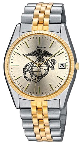 Aqua Force Marines Emerge Watch with 38mm Gold Face