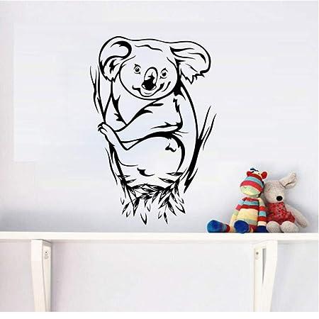 Etiqueta De La Pared Del Oso De Koala 44X29cm Para La Decoración ...