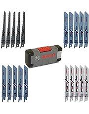 Bosch Professional 20 st. ToughBox toughBox Top Seller for Wood and Metal (för trä och metall, tillbehör fram och återgående såg)