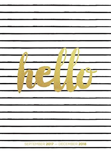 2018 Hello Monthly Planner