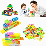 144Pcs Plastic Children Kid Puzzle Educational Building Blocks Bricks Toy Anima