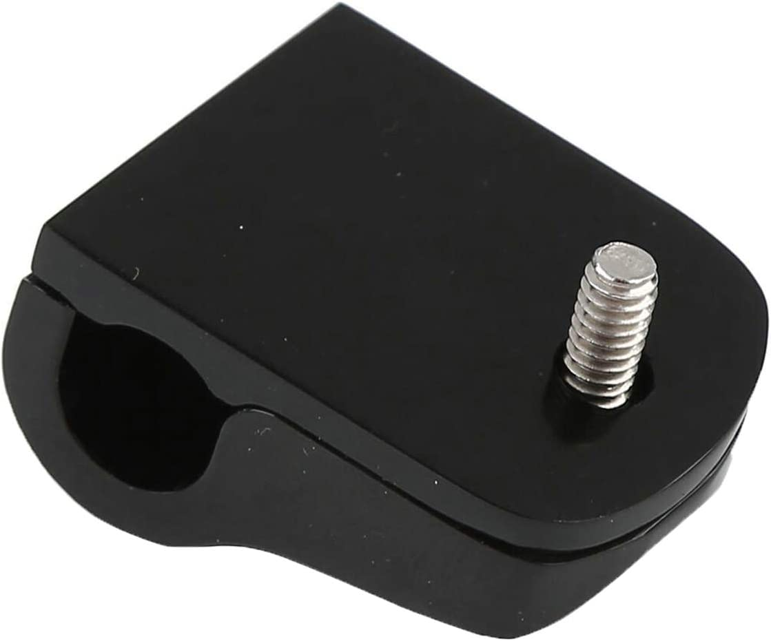 ONETK Clutch Cable Clip fits for Harley Davidson 2000-later Softail,Black