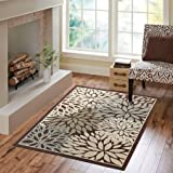 Amazoncom Better Homes and Gardens Iron Fleur Area Rug 63x 90