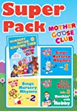 Mother Goose Club Super Pack – DVD & All 3 CDs