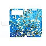 Generic Flip Pu Leather Phone Cover Case for Zte Axon A1 Case XH