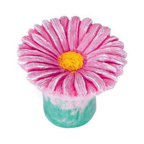 Siro Designs SD101-108 Daisy Cabinet Knob, 1.5-Inch, Pink (Petal Design Knob Flower)