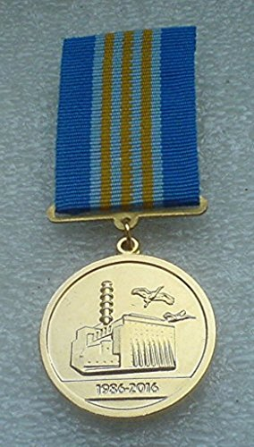 Chernobyl liquidator In memory of the liquidation of consequences of the Chernobyl accident Ukrainian USSR Soviet Union Russian medal