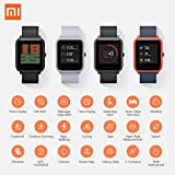 Xiaomi Amazfit Bip Smart watch with GPS Real-time Heart Rate Monitor Water Resistant Sports Fitness Tracker Support iOS and Android for Kids Men Women /US Version (Onyx Black)