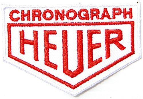 TAG Heuer Chronograph Stopwatch Watch Racing F1 Flag Logo Jacket T-shirt - Racing F1 Flags