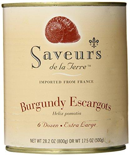 Terra Dry Wine - Saveurs de la Terre Burgundy Escargots, 72-count