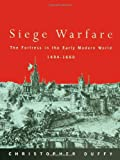 Siege Warfare, Christopher Duffy, 0415146496