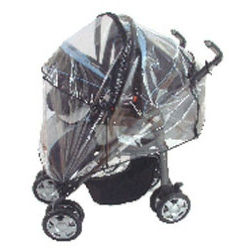 Universal Baby Travel System raincover with Zip