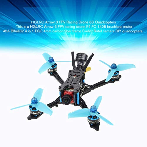 HGLRC Arrow 3 FPV Racing Drone 6S BNF Quadcopters with Frsky XM+ Receiver by Wikiwand (Image #6)
