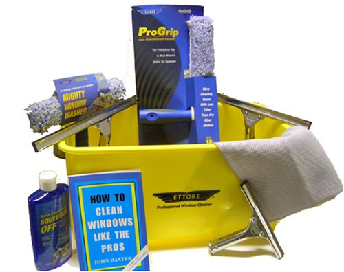 Ettore Complete Ultimate Window Cleaning Kit by Ettore