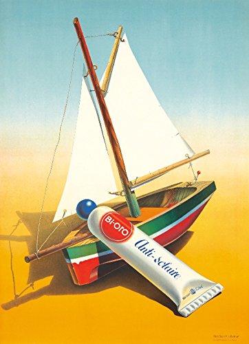 Bi-Oro Vintage Poster (artist: Leupin) Switzerland c. 1942 (36x54 Giclee Gallery Print, Wall Decor Travel Poster)