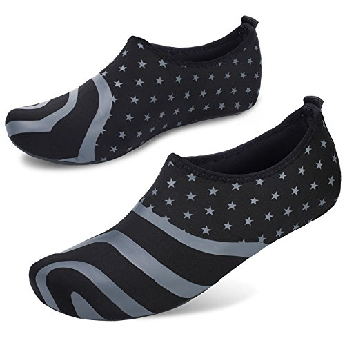 Mens House Womens Office Stars Quick Centipede Barefoot Sock Shoes Demon Drying Grey Aqua Water Footwear 5pqCInnwYx