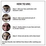 The Man Company Caffeine Face Wash with Coffee Arabica Green Tea | Deep Cleanser | Rejuvenates | Dirt Removal | Hydrates…
