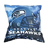 Northwest Seattle Seahawks Real Photo Throw Pillow