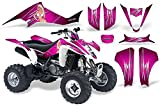 CreatorX Suzuki Ltz 400 2003-2008 Graphics Kit Decals You Rock Pink
