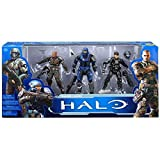 Halo McFarlane Toys 10th Anniversary Fearless Leaders Action Figure 3 Pack includes: ODST Buck, Spartan Forge and Spartan Carter