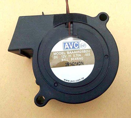 AVC 5025 BAAA0525B2U 12V 0.70A 2Wire Cooler Fan