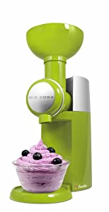 Big Boss 9388 Swirlio Frozen Fruit Dessert Maker, Green
