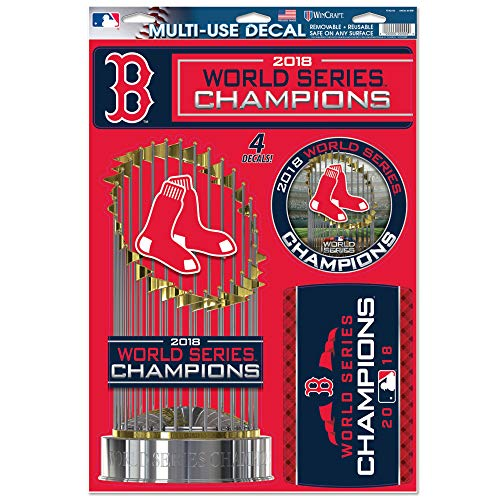 (WinCraft Boston Red Sox 2018 World Series Champions 11