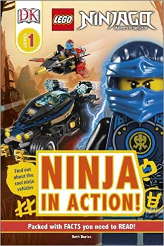 LEGO NINJAGO Ninja in Action! (DK Readers Level 1): Amazon ...