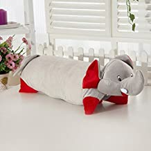 100% Natural Healthy Comfortable Cartoon Latex Pillow for Children (elephant)