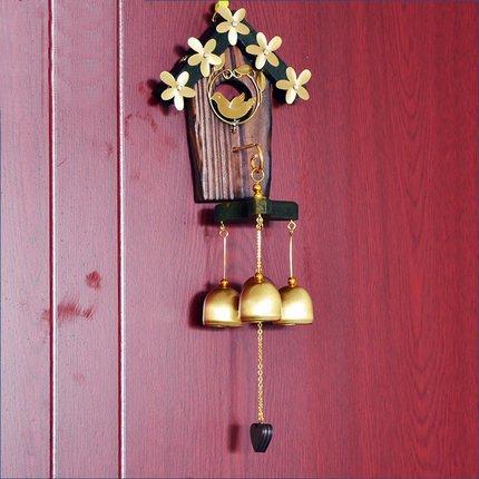 Die glocke an Metall - Holz der japanischen campanula liebe campanula klingel - Tür Kupfer campanula anhänger wohnaccessoires