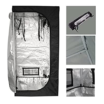ECO-WORTHY Mylar Hydroponics Grow Tent New for Indoor Plant Growing