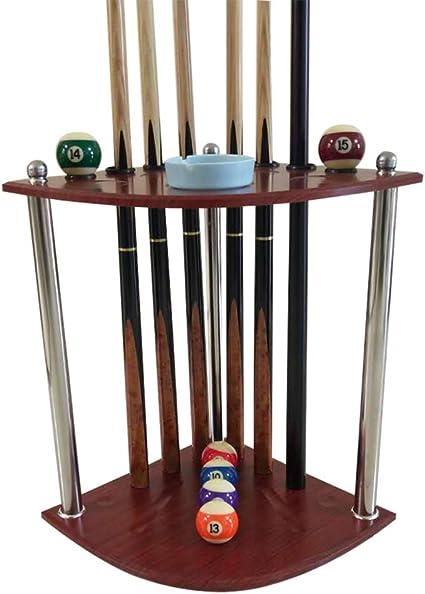 XGGYO Billar Stick Holder, Piso Multifuncional Tipo Snooker Cue Rack, Cue Holder Contenedores / 8 holes / 36×36×57cm: Amazon.es: Bricolaje y herramientas