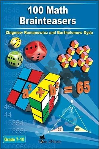 Amazon.com: 100 Math Brainteasers (Grade 7, 8, 9, 10). Arithmetic ...